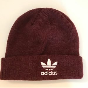 Adidas Red Woolen Hat